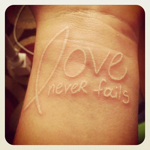 Tatuaggio sul polso