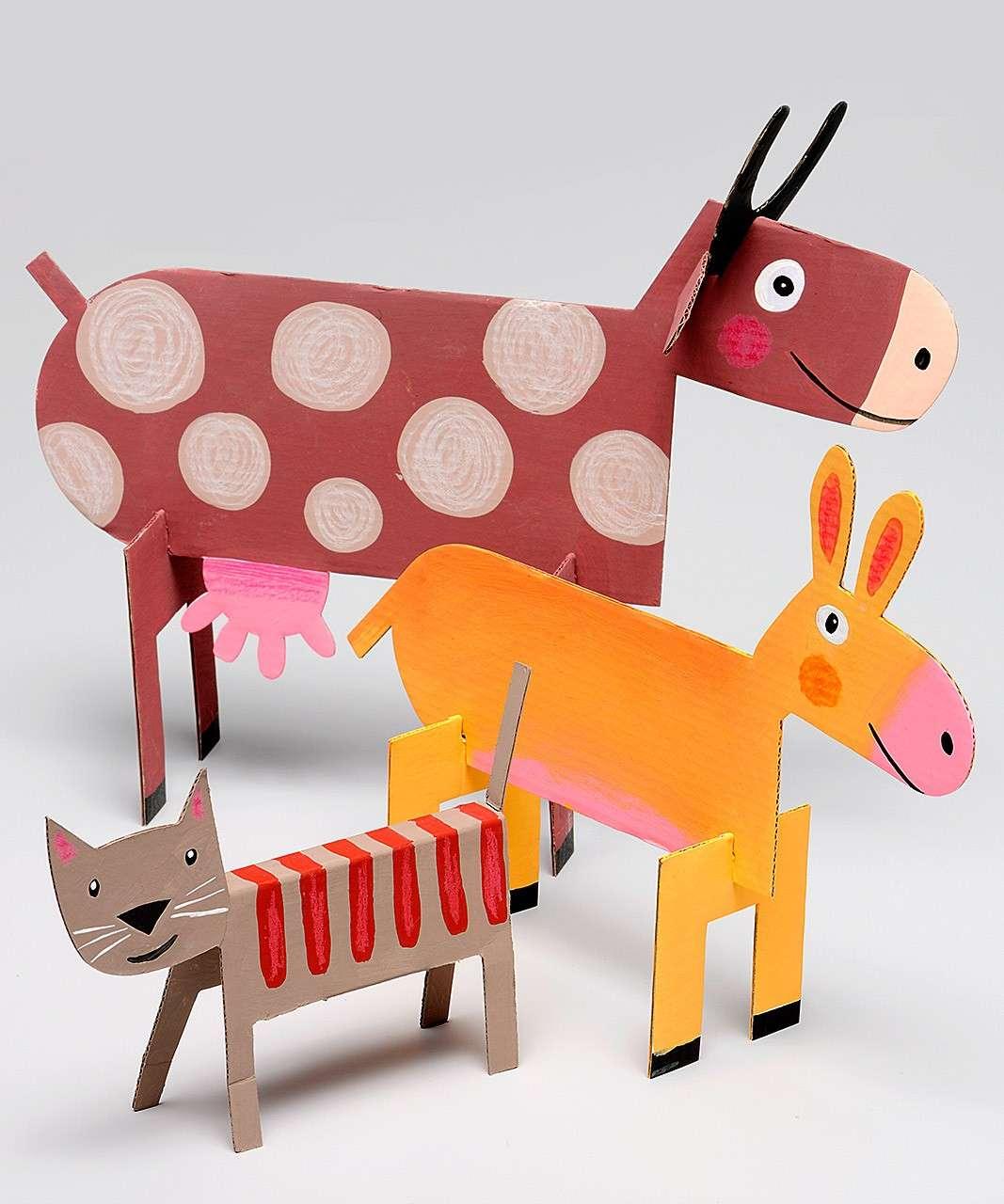Lavoretti creativi: tanti animali fai da te [FOTO]