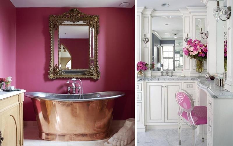 Colori Per Arredare Il Bagno : Idee per arredare il bagno foto pourfemme