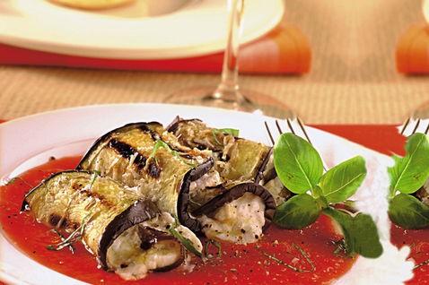 Cannelloni di melanzane, ricetta light