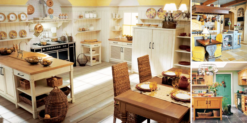Cucina in stile country come arredarla foto pourfemme - Accessori cucina country ...
