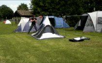 Come montare una tenda da campeggio