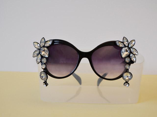 strass occhiali