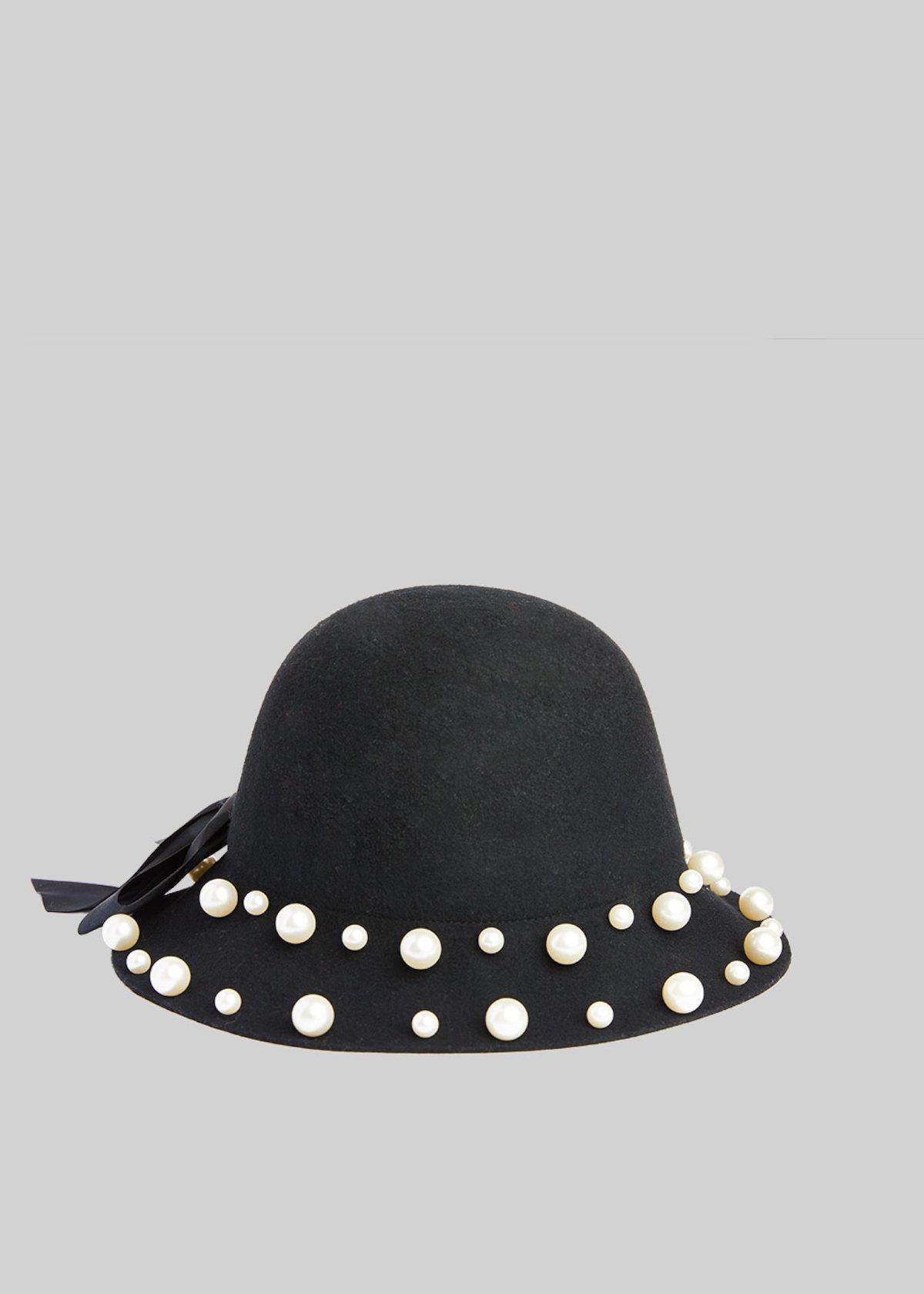 Cappello con perle Camomilla