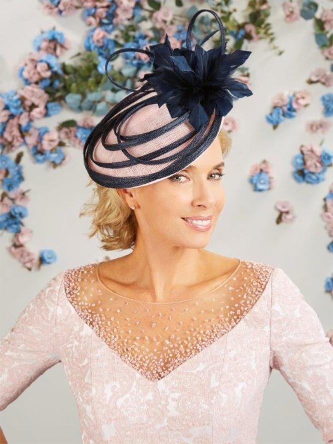 Cappello da cerimonia eccentrico Compton House Fashion