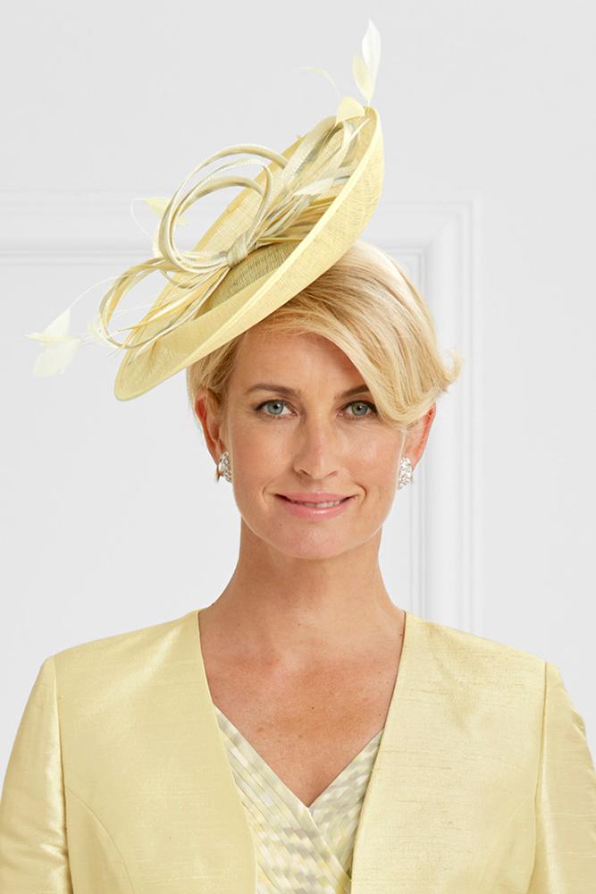 Cappello estivo per la mamma della sposa Compton House Fashion