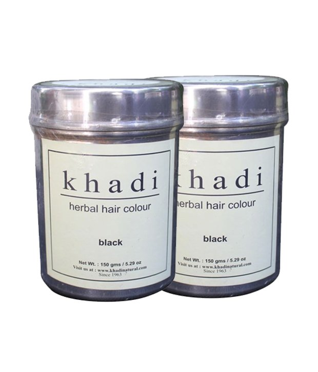 Khadi Herbal Colour Black
