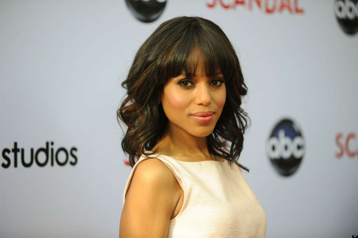 Acconciatura mossa di Kerry Washington