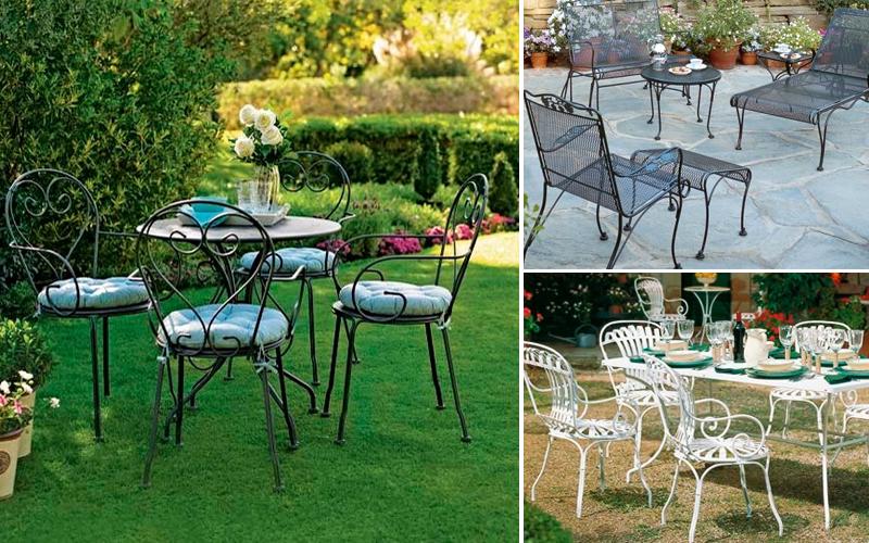 Arredamento giardino classico