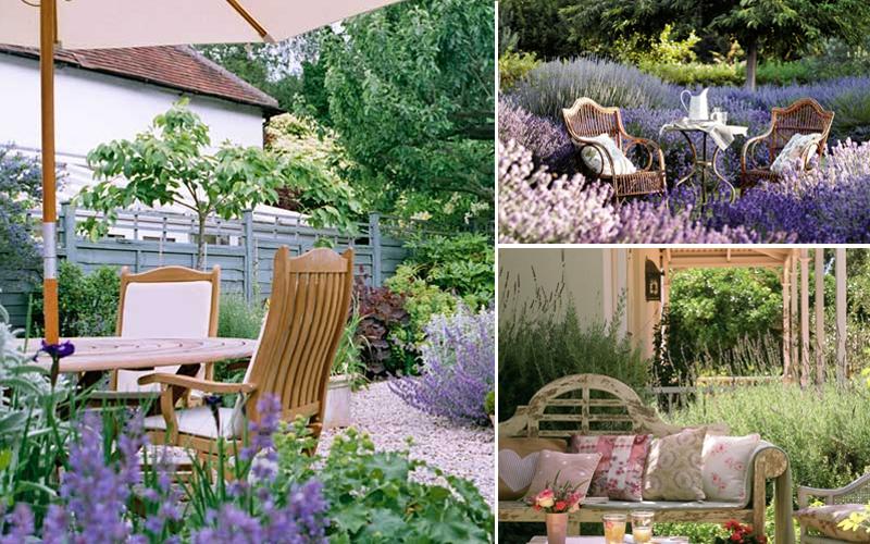 Arredamento giardino country
