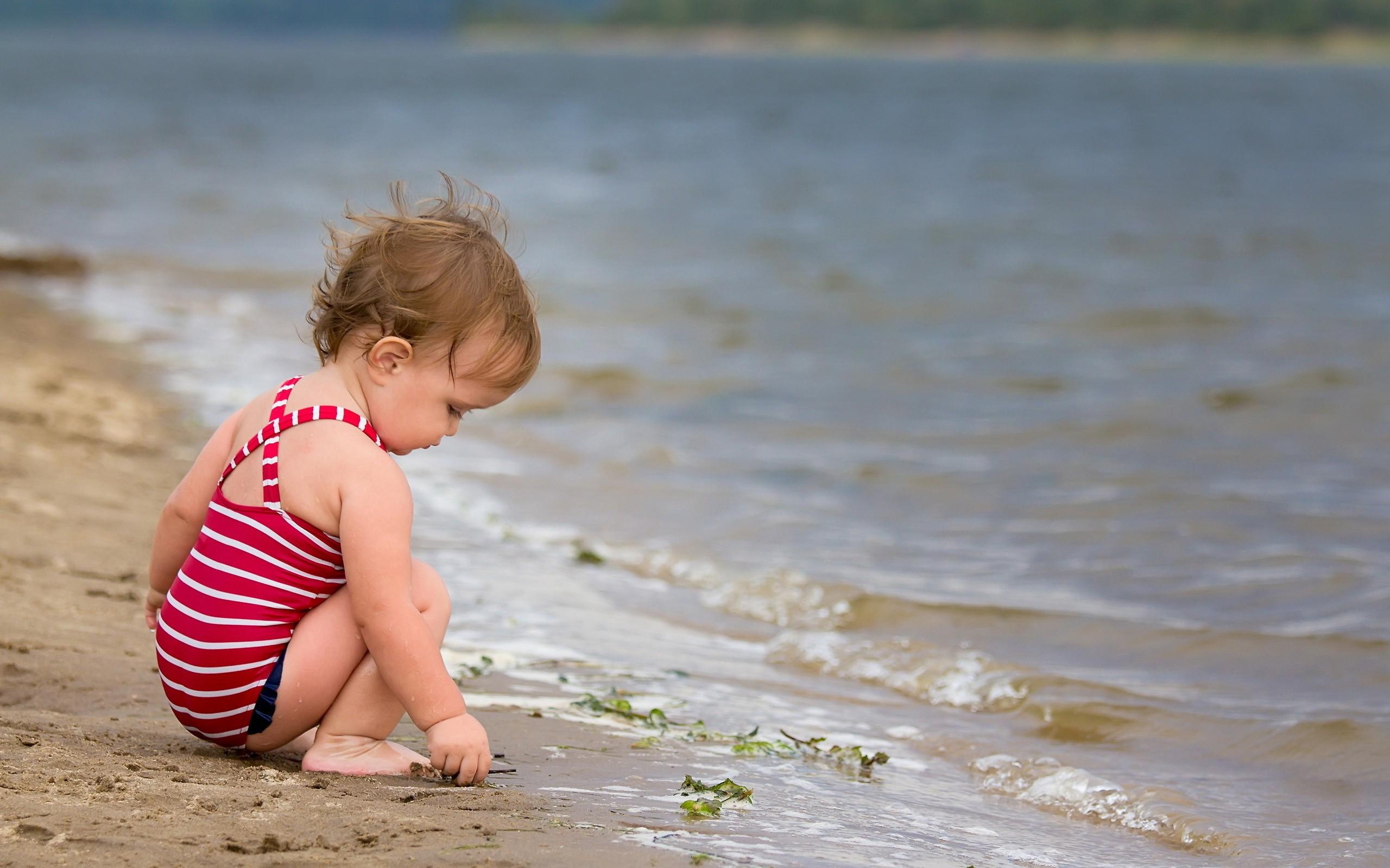 Perchè il mare fa bene ai bambini