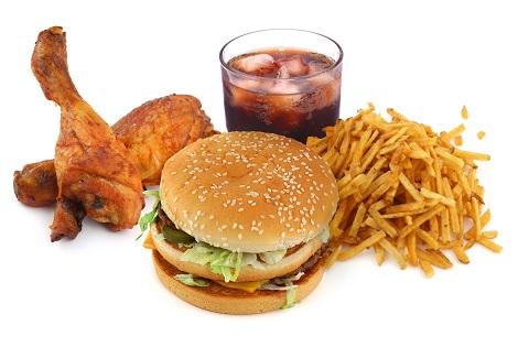 junk food dieta