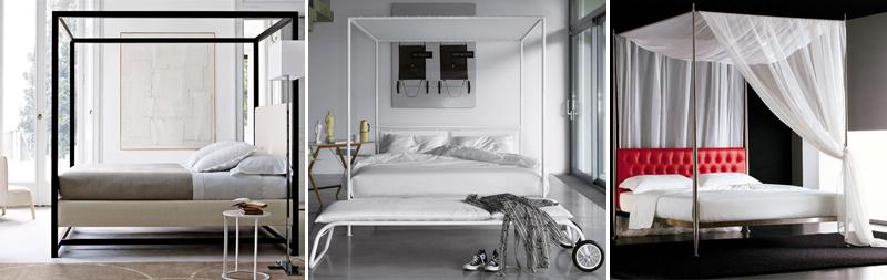 Letti a baldacchino: romanticismo in camera da letto [FOTO] | Pourfemme