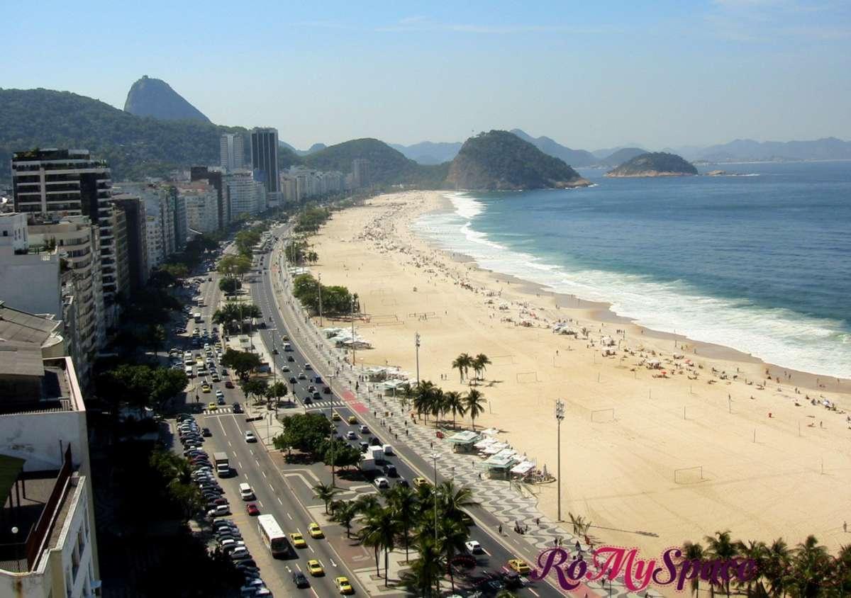 Una bellissima vista di Copacabana