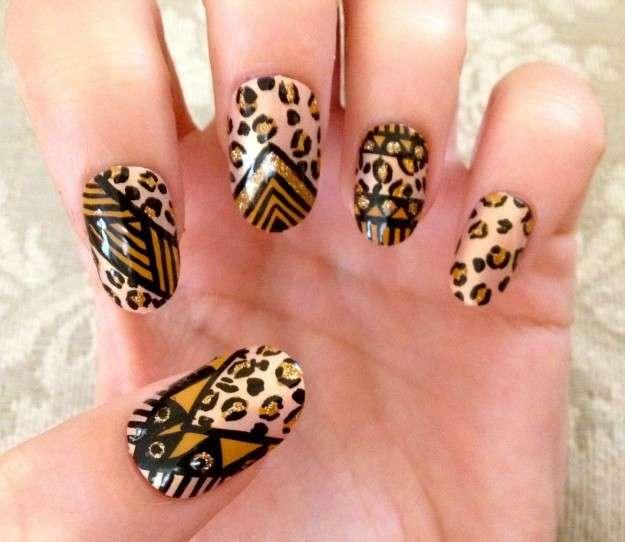 Nail art animalier: per unghie grintose e perfette [FOTO]