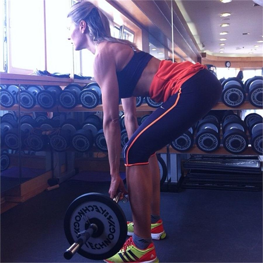 Martina Colombari fitness