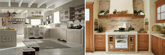 Cucine in muratura tante idee di stile e design foto pourfemme - Struttura cucina in muratura ...