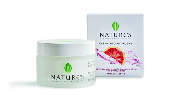 crema anti rughe nature's arancia