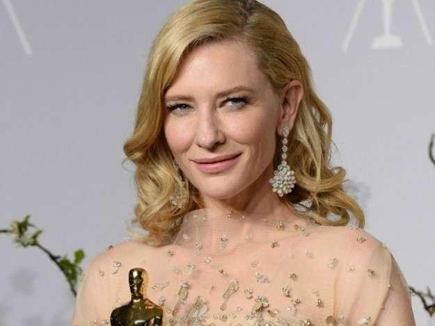 Kate Blanchett con orecchini Chopard