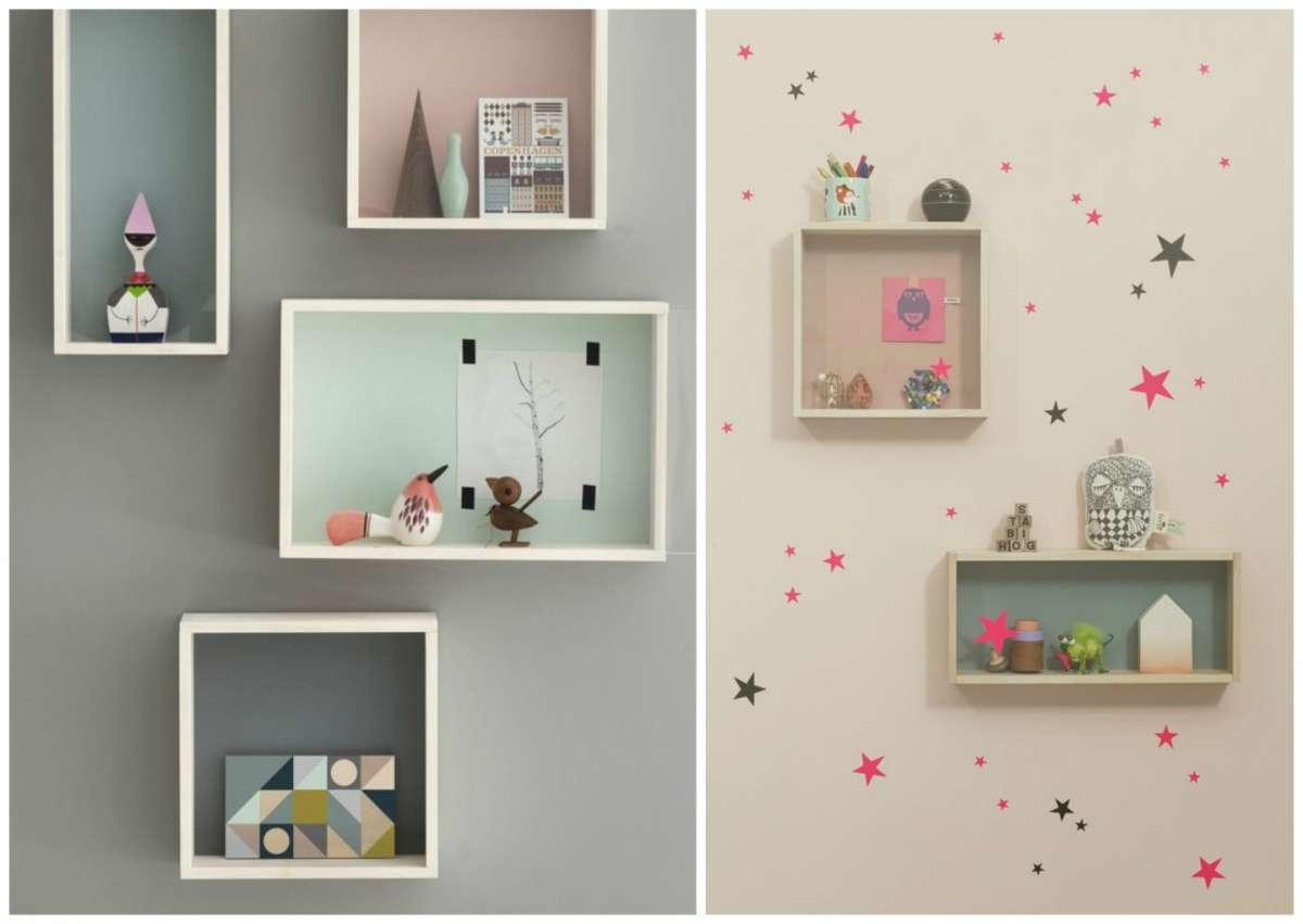 mensole fai da te idee e spunti originali foto pourfemme. Black Bedroom Furniture Sets. Home Design Ideas