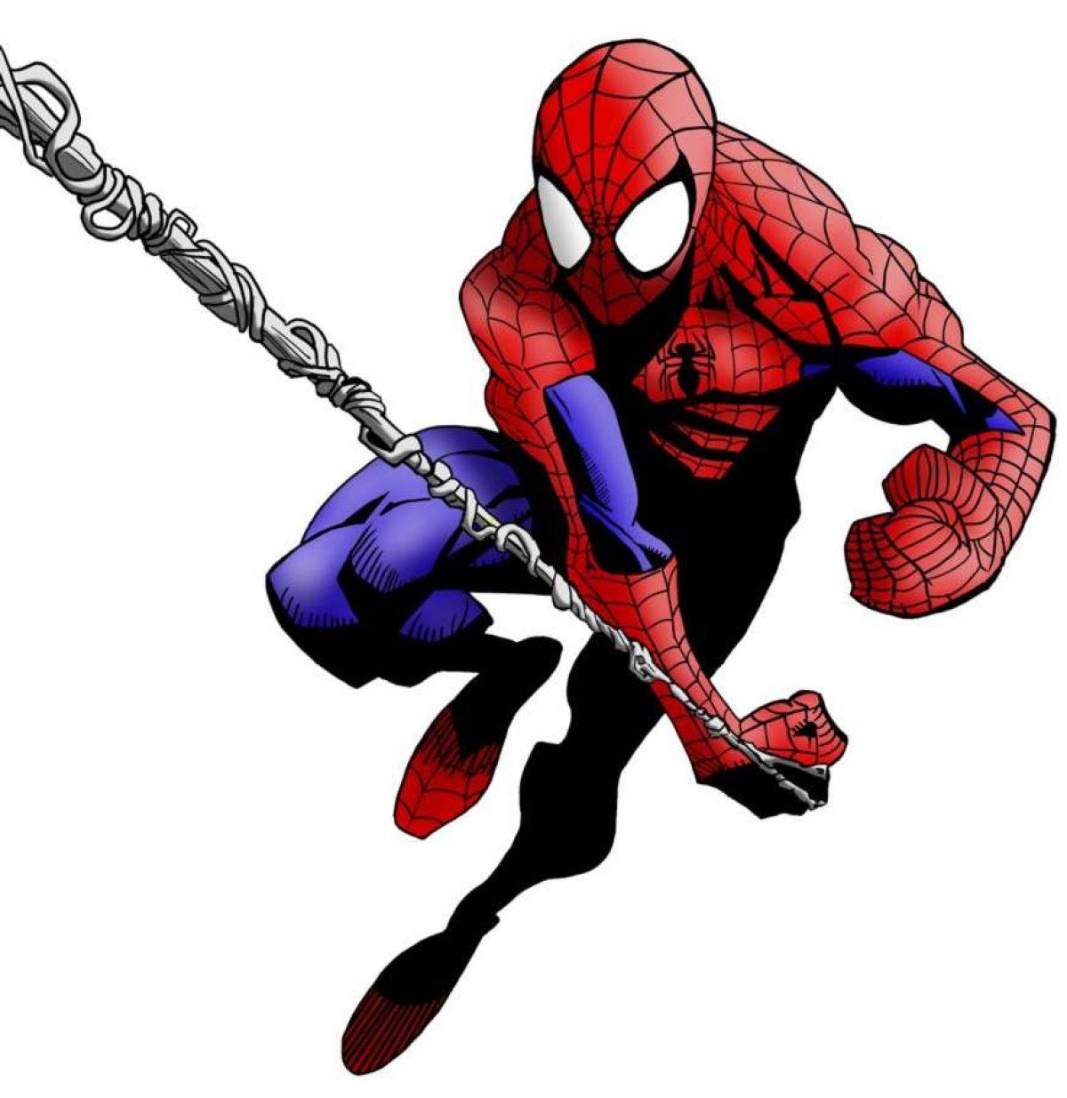 Disegni Di Spiderman Da Stampare E Colorare Per Bambini Foto