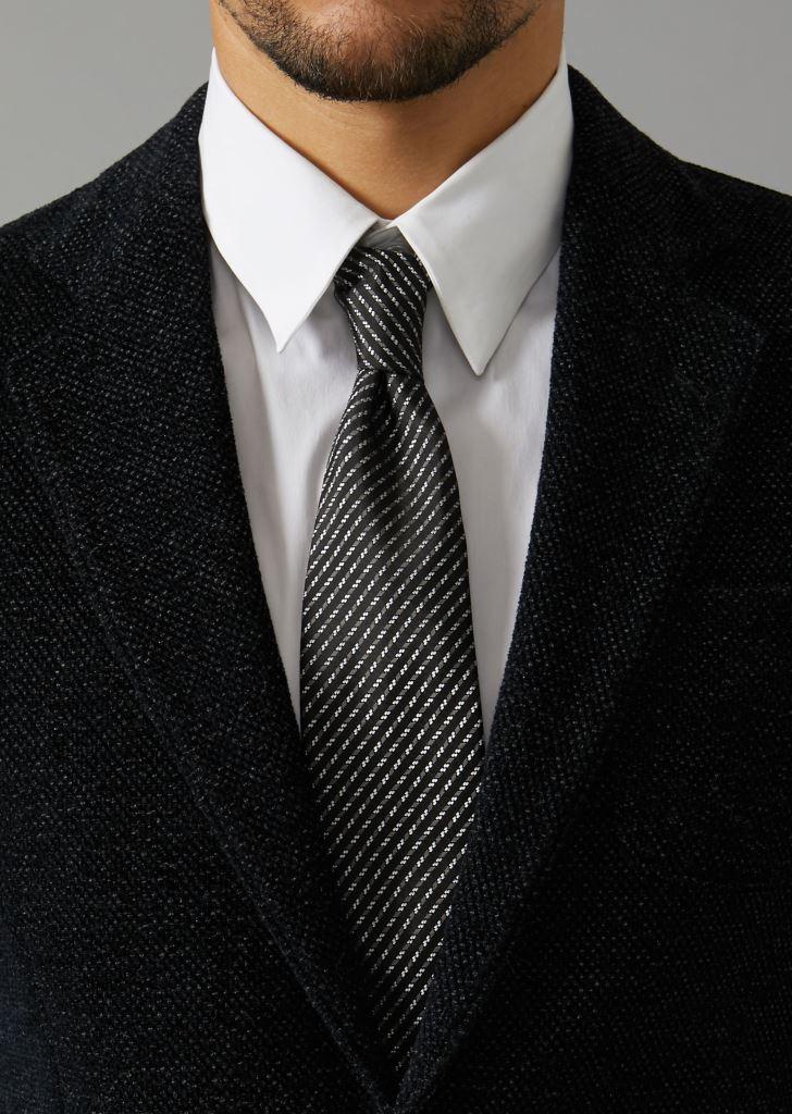Cravatta uomo in seta firmata Giorgio Armani