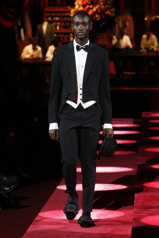 Frac nero Dolce & Gabbana