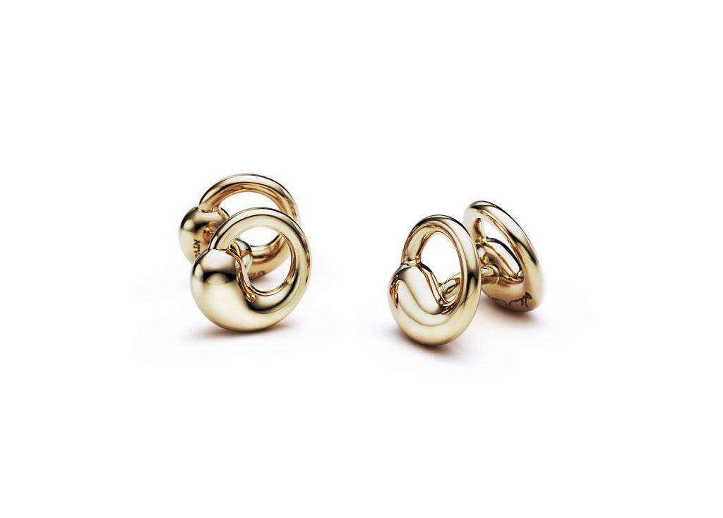 Gemelli in oro Tiffany