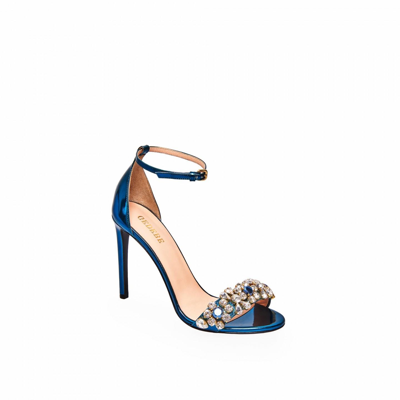 Sandali da cerimonia blu Gedebe