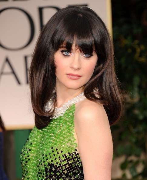 Zooey Deschanel beauty look: copia i trucchi della star di New Girl [FOTO]