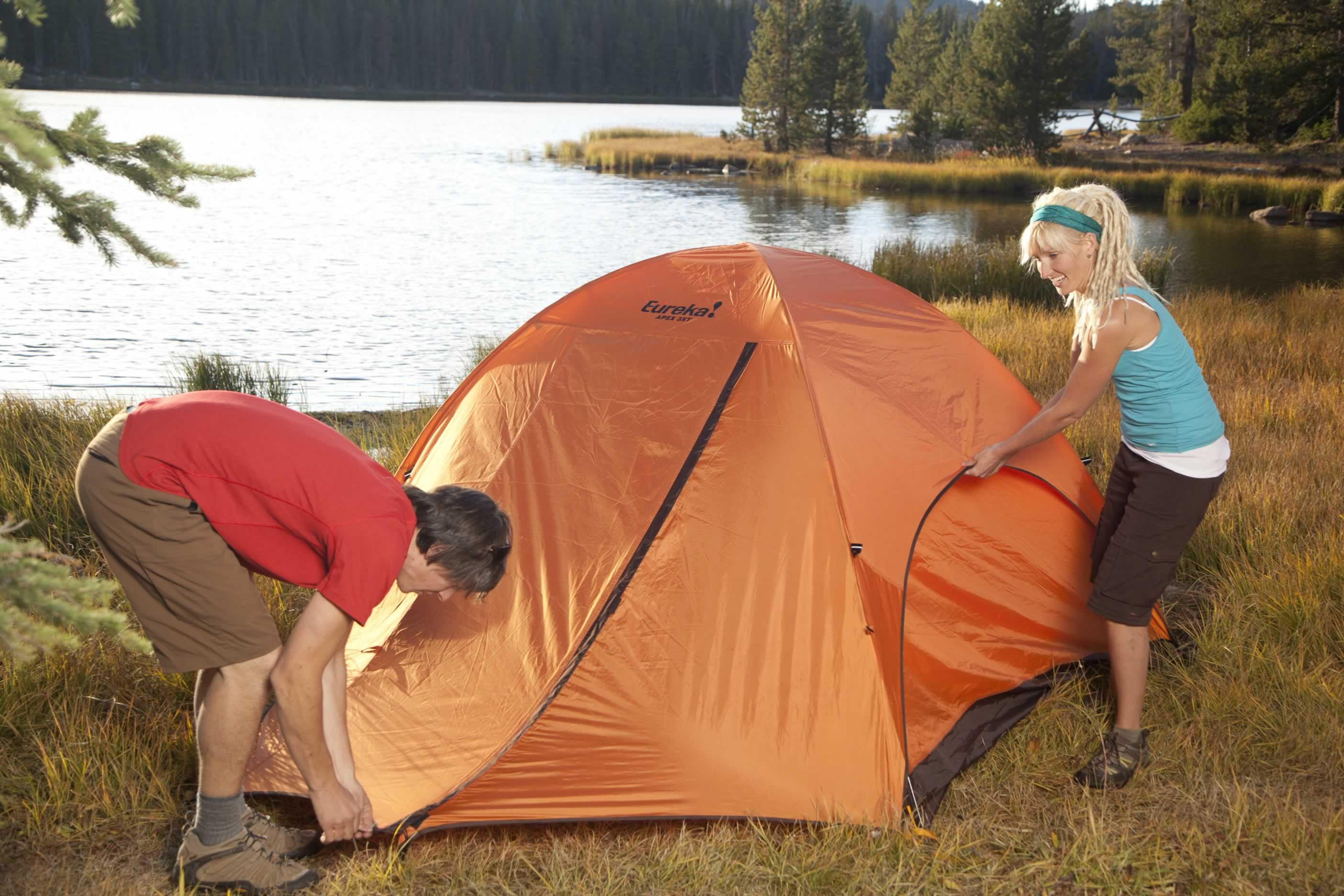 montare tenda