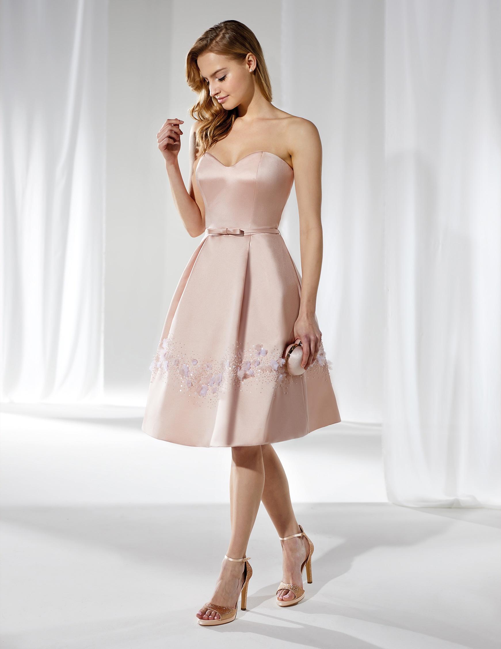 Vestito anni '50 elegante Nicole Spose