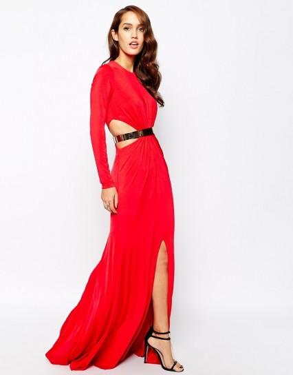 abito rosso forever unique