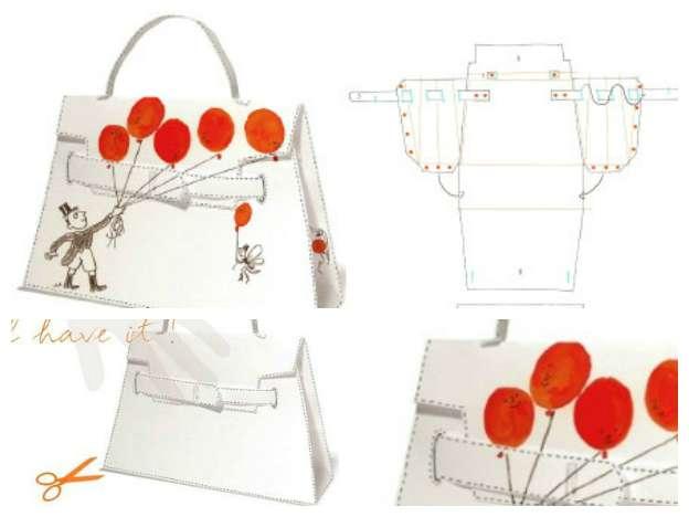Cartamodelli per borse: le idee più originali [FOTO]