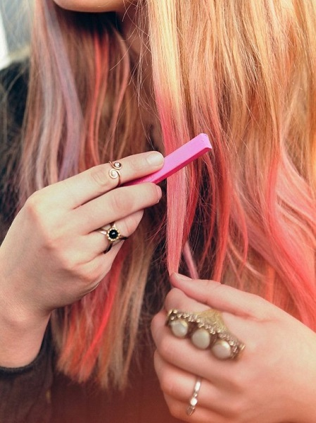 come passare gessetti capelli