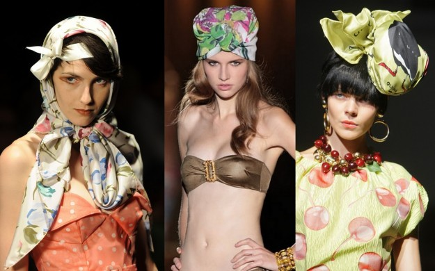 foulard per look eccentrici