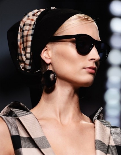 foulard per look in stile safari