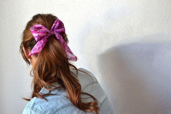 foulard usato come fermacoda