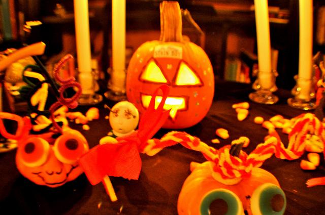 halloween zucche da appendere
