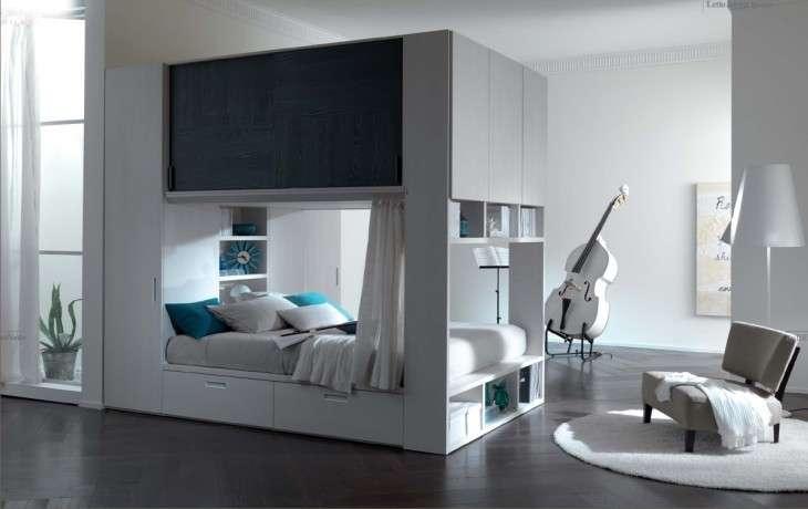 Come arredare una stanza piccola tante idee e consigli di - Come pitturare una camera da letto ...
