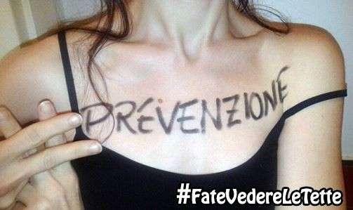 #FateVedereLeTette: l'hashtag che esorta le donne a prevenire il tumore al seno [FOTO]