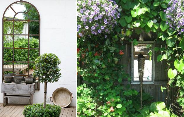 specchio giardino