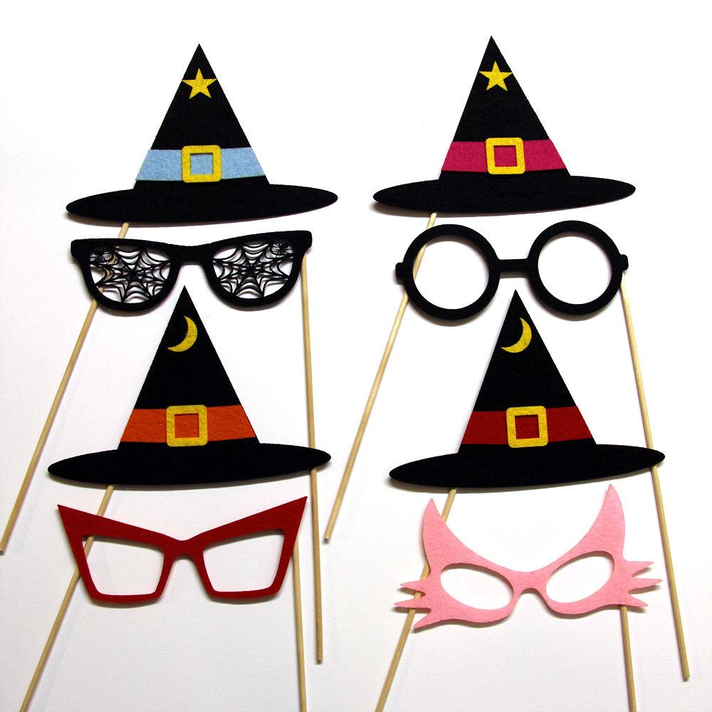 Maschere bambini Halloween streghe