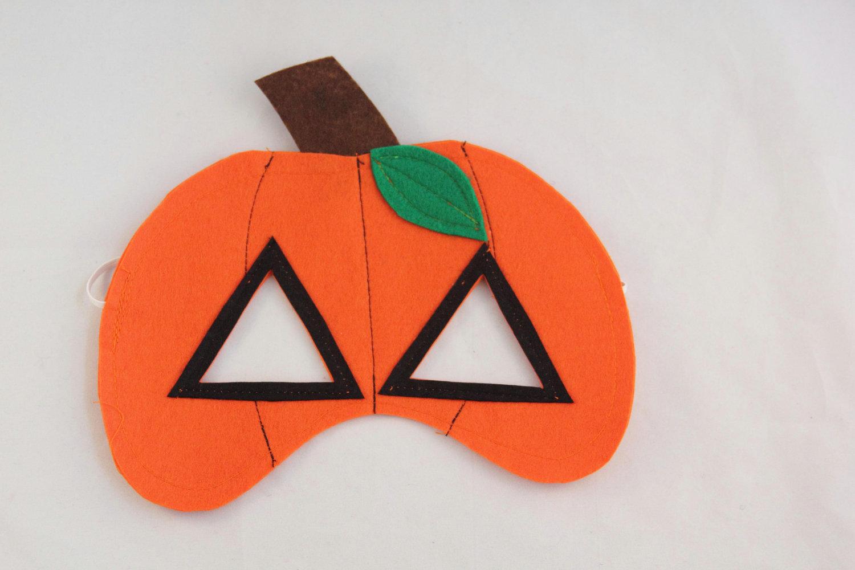 Maschere bambini Halloween zucca