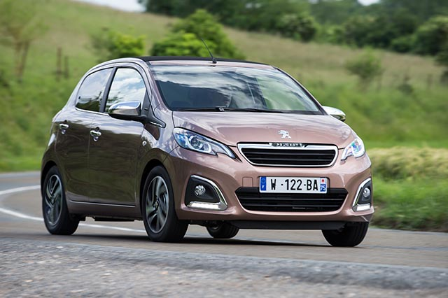 Nuova Peugeot 108 5porte