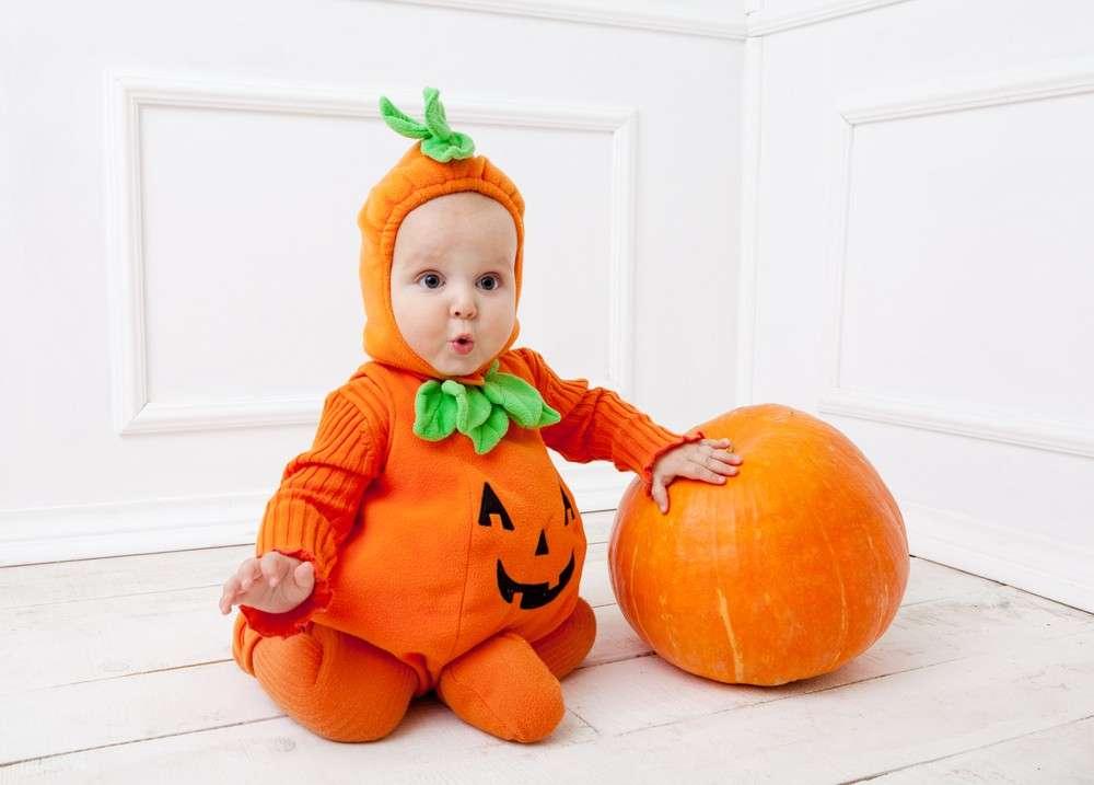 Halloween: il costume da zucca fai da te per i bambini [FOTO]