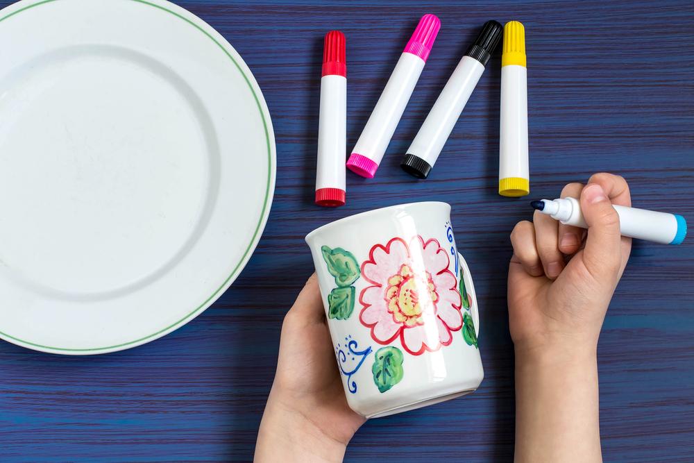 lavoretti per la festa dei nonni: la tazza personalizzata