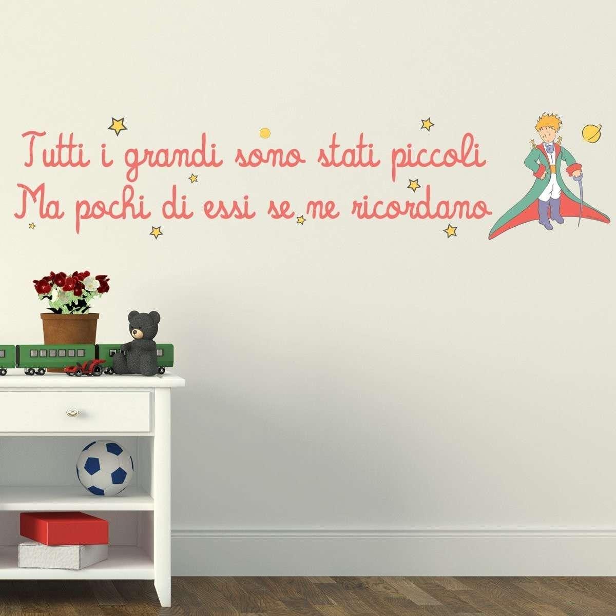 Frase celebre sulle pareti