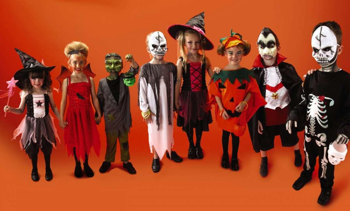 Maschere per bambini fai da te per Halloween  FOTO   b6834dafb50e