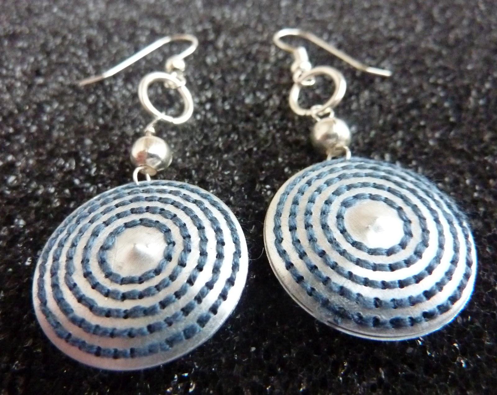 orecchini cerchio alluminio
